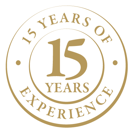 15 years of experience